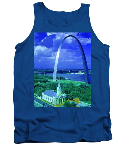Arched Tank Top