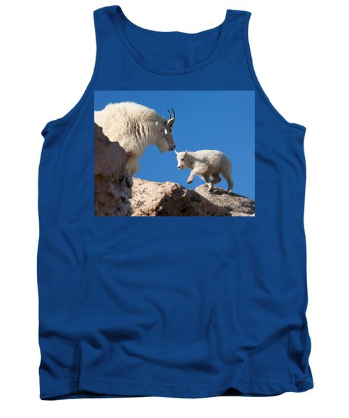 Tank Top featuring the photograph Baby Steps by Jim Garrison