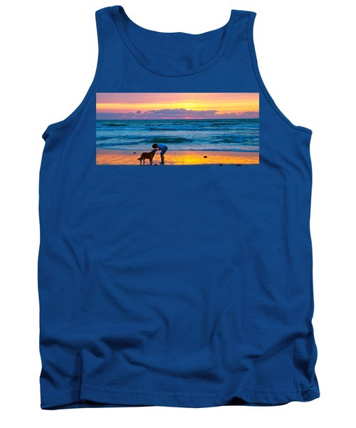 Tank Top featuring the photograph Bella At Sunrise by Alice Gipson