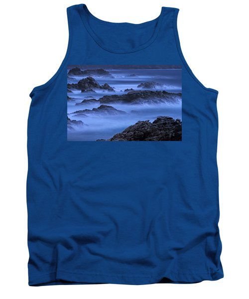 Tank Top featuring the photograph Big Sur Mist by William Lee