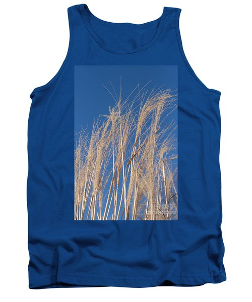 Tank Top featuring the photograph Blowing In The Wind by Barbara McMahon