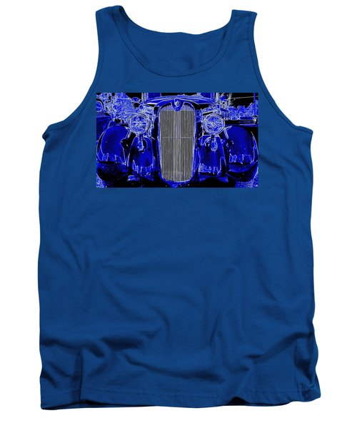 Blue Coupe Tank Top by J R Seymour
