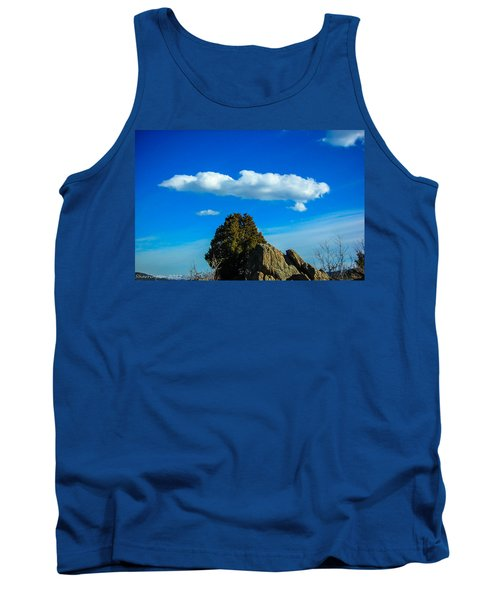 Tank Top featuring the photograph Blue Skies by Shannon Harrington