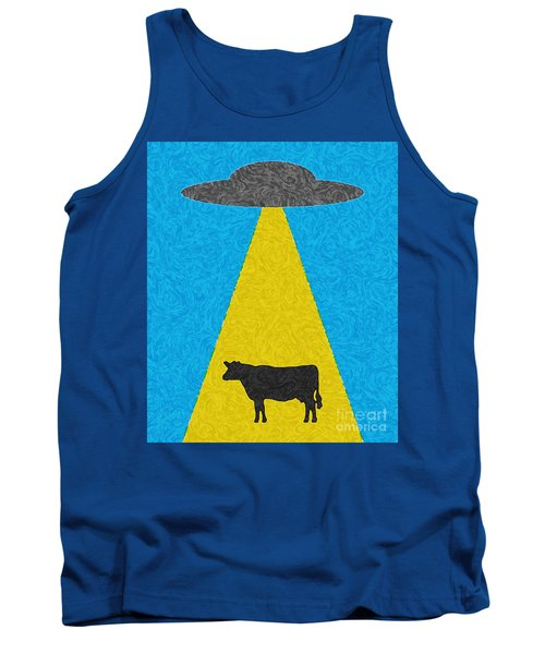 Burger To Go Tank Top by Tony Cooper