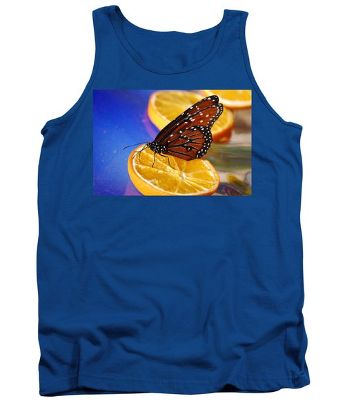 Tank Top featuring the photograph Butterfly Nectar by Tam Ryan