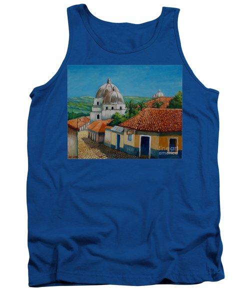 Church Of Pespire In Honduras Tank Top