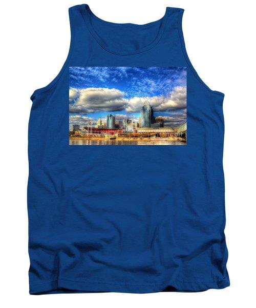 Cincinnati Skyline 2012 - 2 Tank Top