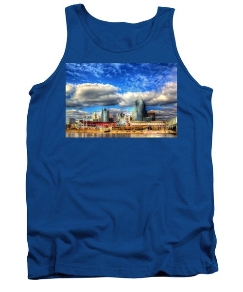 Cincinnati Skyline 2012 - 2 Tank Top