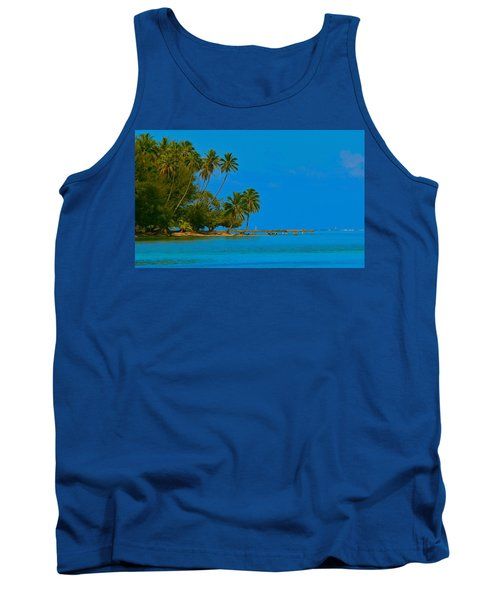 Tank Top featuring the photograph Coconuts Anyone by Eric Tressler