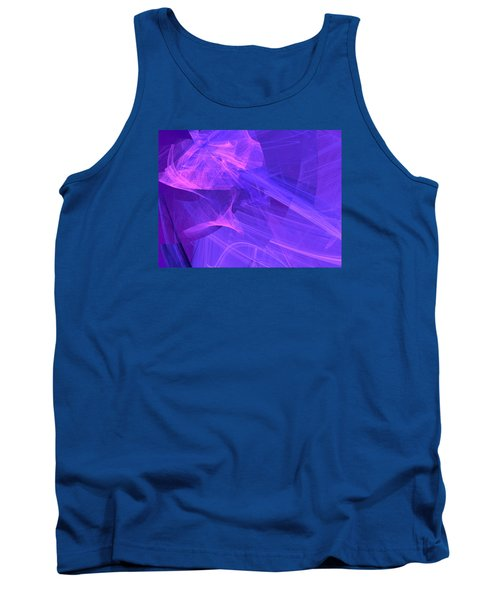Tank Top featuring the digital art Definhareis by Jeff Iverson
