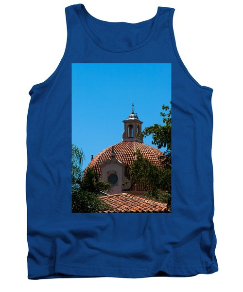 Tank Top featuring the photograph Dome At Church Of The Little Flower by Ed Gleichman
