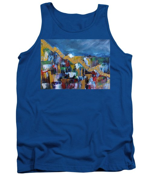 Economic Meltdown Tank Top by Judith Rhue