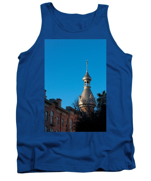 Tank Top featuring the photograph Facade And Minaret by Ed Gleichman