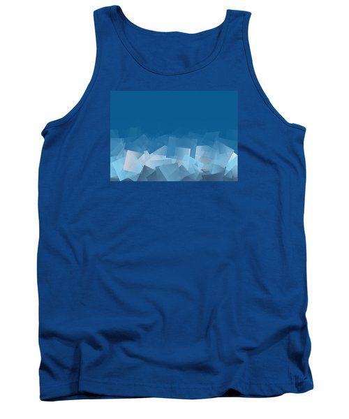 Tank Top featuring the digital art Fallout by Jeff Iverson