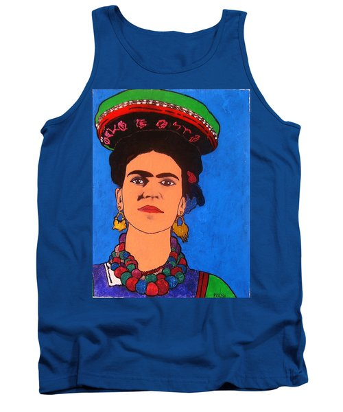 Frida Kahlo Tank Top by Roberto Prusso
