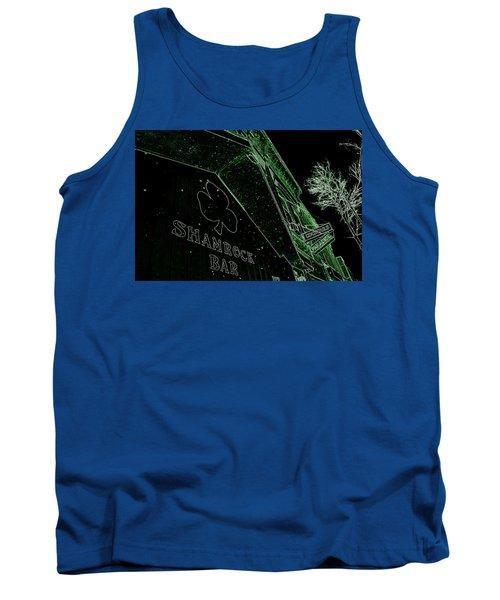 Green Night Tank Top