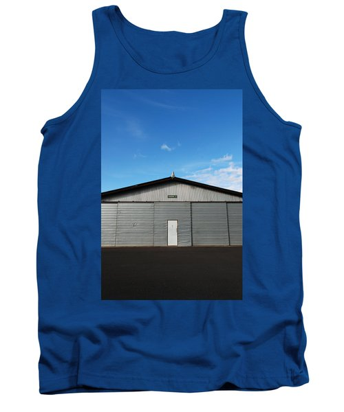 Tank Top featuring the photograph Hangar 2 by Kathleen Grace