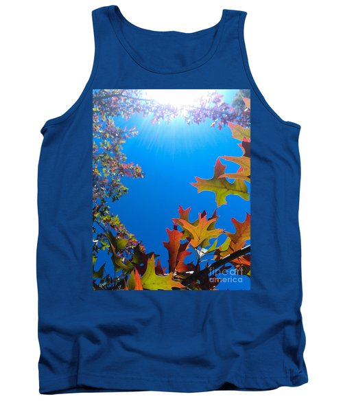 Happy Autumn Tank Top by CML Brown