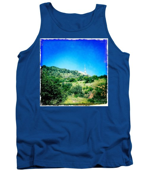 Tank Top featuring the photograph Hollywood by Nina Prommer