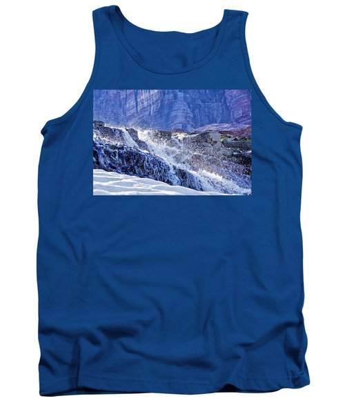 Icy Cascade Tank Top by Albert Seger