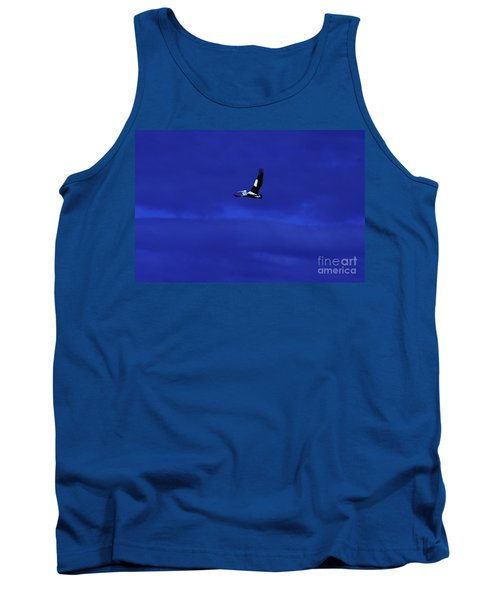 Tank Top featuring the photograph Into The Blue by Blair Stuart