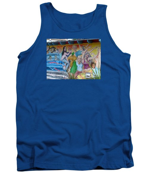 Keeping It Weird In Austin Tank Top by Patti Whitten