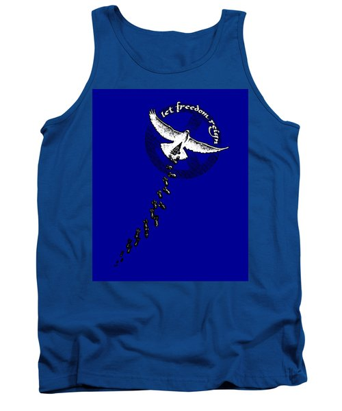 Let Freedom Reign Tank Top by Tony Koehl