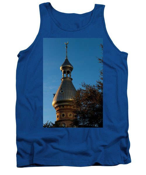 Tank Top featuring the photograph Minaret And Trees by Ed Gleichman