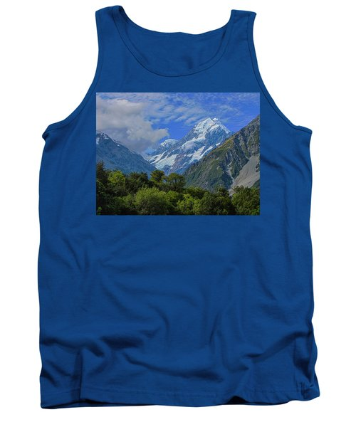 Tank Top featuring the photograph Mount Cook by David Gleeson
