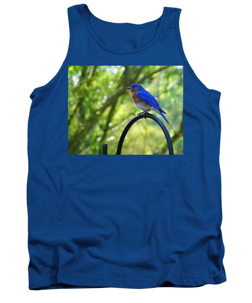 Mr Bluebird Tank Top
