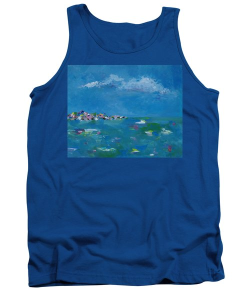 Tank Top featuring the painting Ocean Delight by Judith Rhue