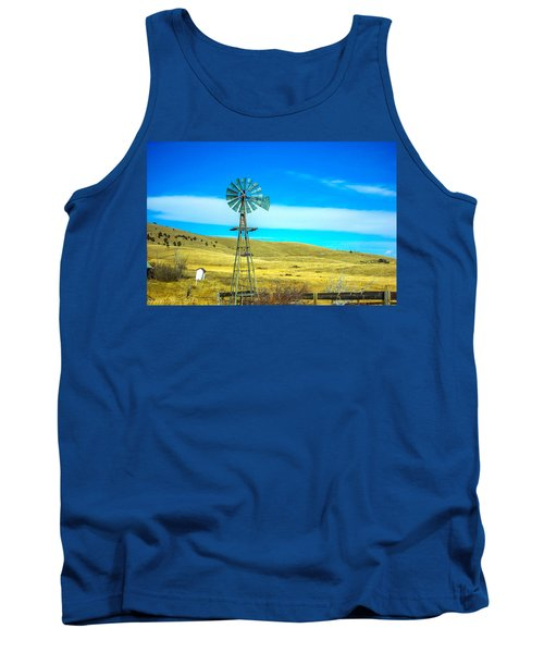 Tank Top featuring the photograph Old Windmill by Shannon Harrington