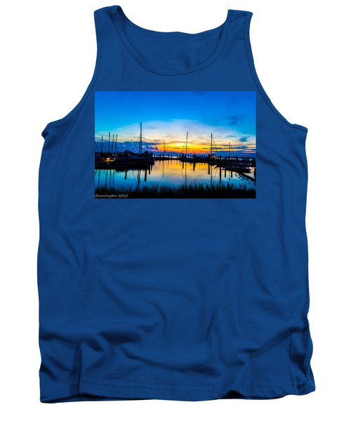 Peacefull Sunset Tank Top