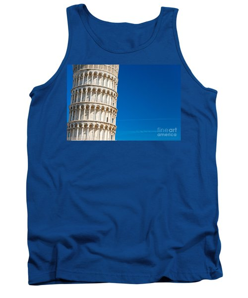 Tank Top featuring the photograph Pisa Leaning Tower by Luciano Mortula