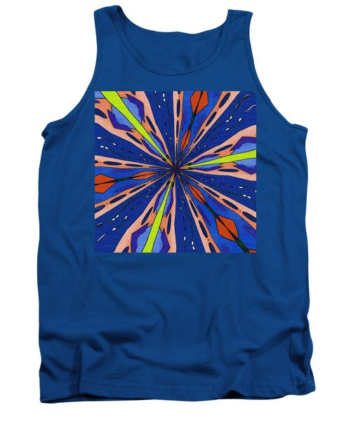 Tank Top featuring the digital art Portal To The Past by Alec Drake