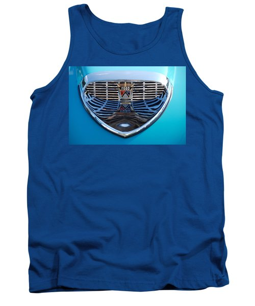 Tank Top featuring the photograph Reflecting Ford by John Schneider