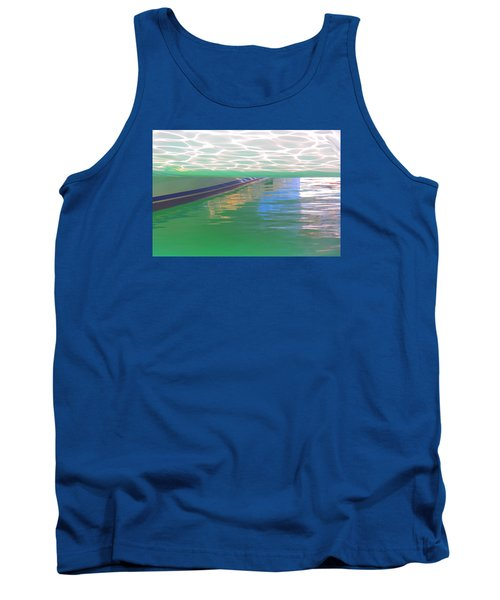 Tank Top featuring the photograph Reflections by Nareeta Martin