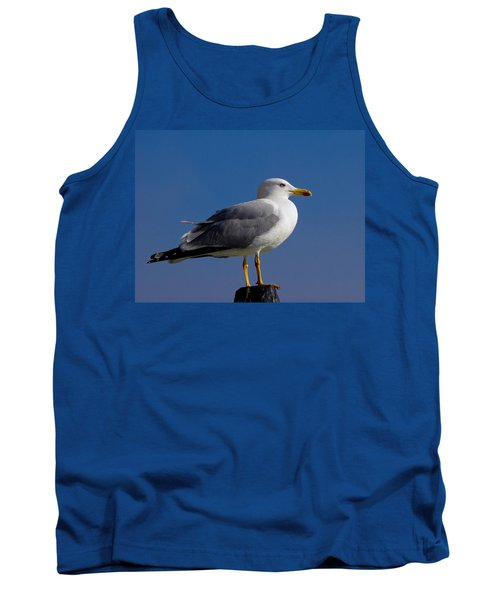 Tank Top featuring the photograph Seagull by David Gleeson