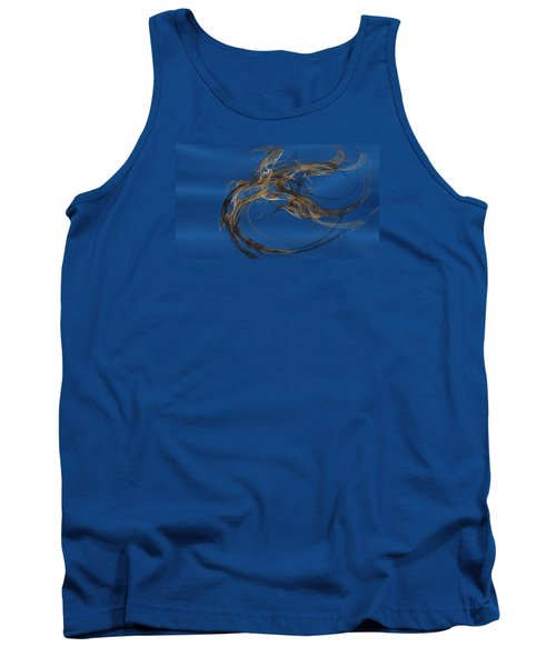 Tank Top featuring the digital art Selbstvertrauen by Jeff Iverson