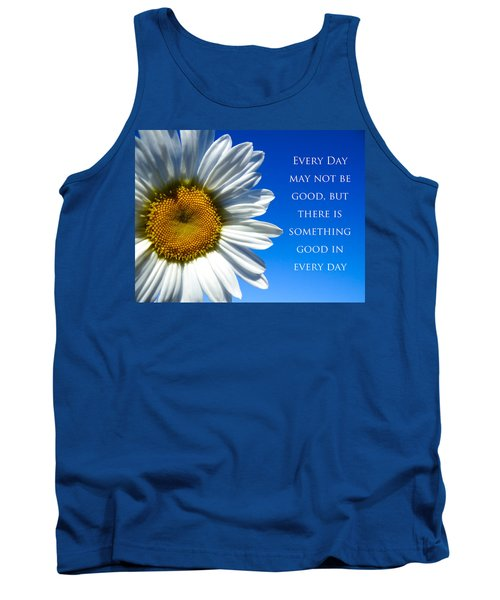 Something Good Tank Top by Julia Wilcox