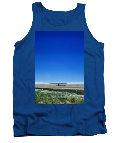 Tank Top featuring the photograph Somewhere On Hwy 285 Number One by Lon Casler Bixby