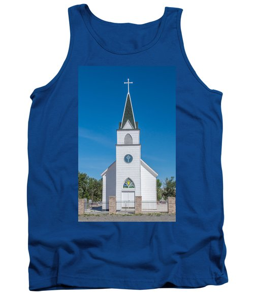 Tank Top featuring the photograph St. John The Evangelist Catholic Church by Fran Riley
