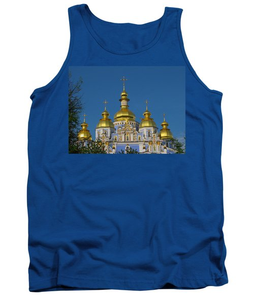 Tank Top featuring the photograph St. Michael's Cathedral by David Gleeson