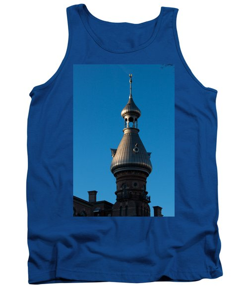 Tank Top featuring the photograph Tampa Bay Hotel Minaret by Ed Gleichman