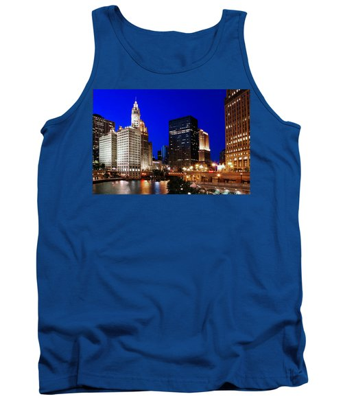 The Chicago River Tank Top