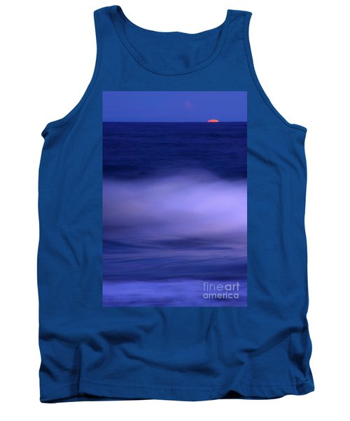 The Red Moon And The Sea Tank Top