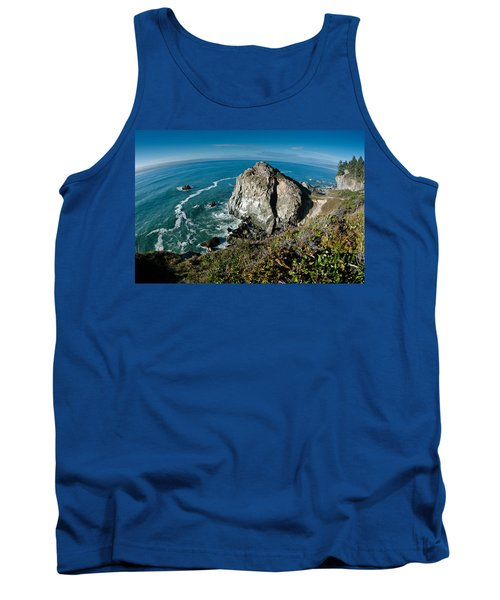 The World Is Round Tank Top