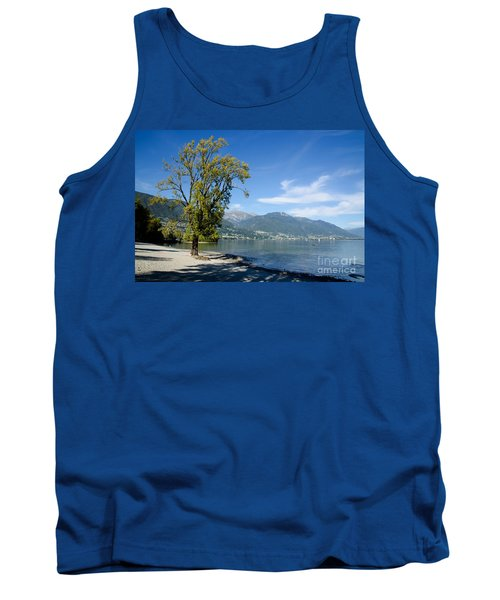 Tree On The Beach Tank Top