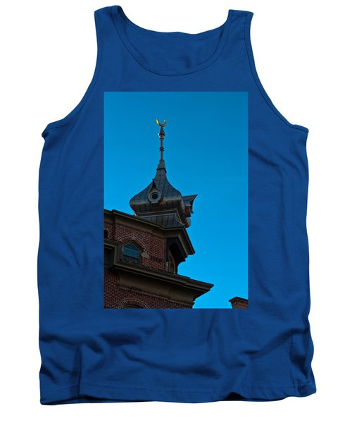 Tank Top featuring the photograph Turret At Tampa Bay Hotel by Ed Gleichman