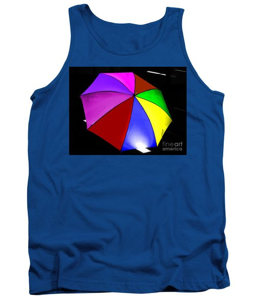 Tank Top featuring the photograph Umbrella by Blair Stuart